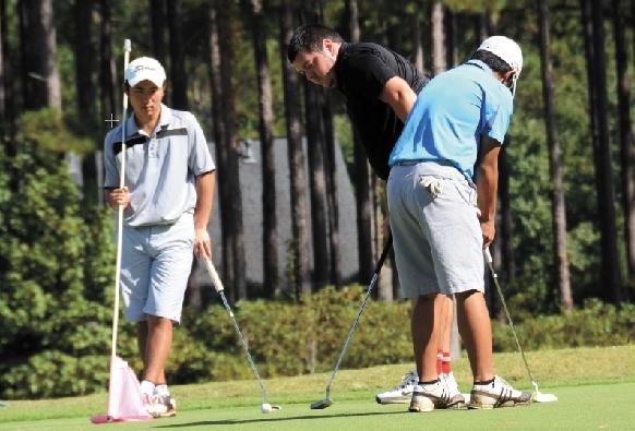 IJGAジュニアゴルフトレーニングの様子09