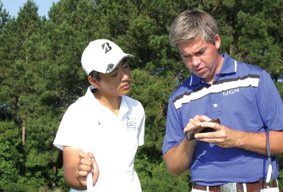 IJGAジュニアゴルフトレーニングの様子12