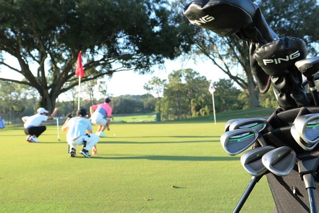 ゴルフコース ジュニア 練習